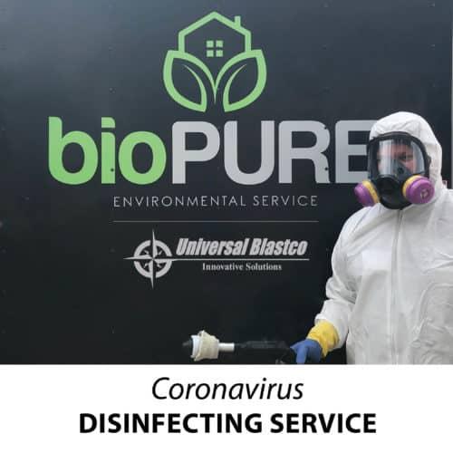 Coronavirus disinfecting service